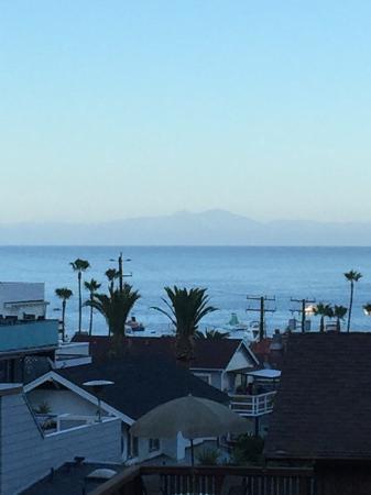 El Terado Terrace: View from our door.