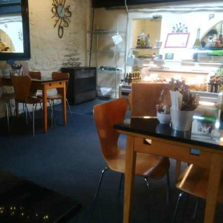 The Whale Tail: Cafe Inside