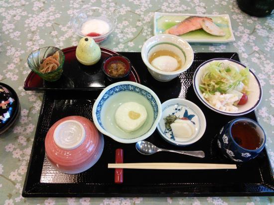 Ikoi no Mura Noto Hanto: 朝食