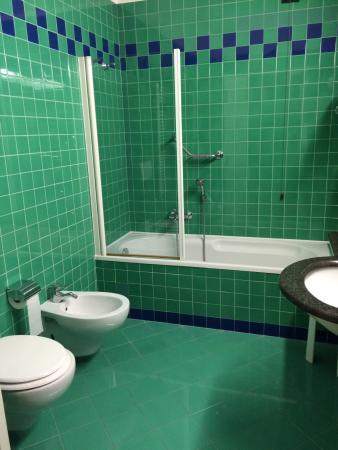 Al Gabbiano Hotel : Il bagno