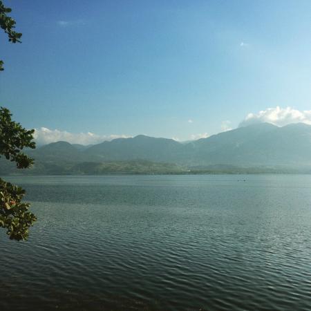 Solok, Indonesia: Salah satu pemandangan danau