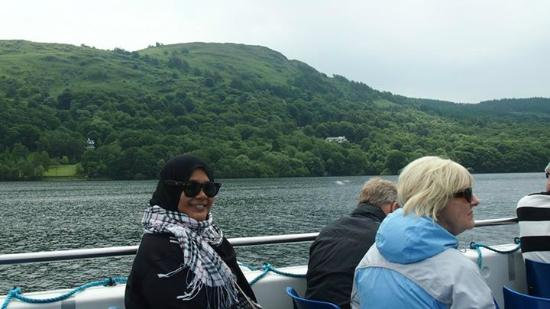 Bowness-on-Windermere, UK: me cruisin'