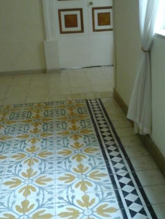 Corridor Floor Tiles Corridors Used As Storage Areas For Cleaning