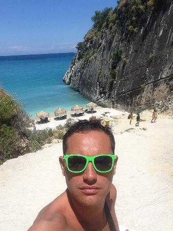 Xygia Sulphur Beach: Spiaggia