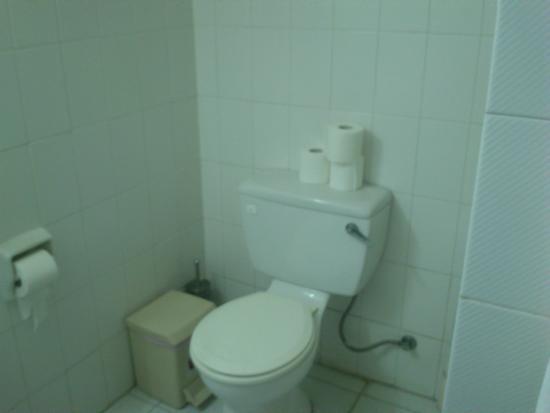 Petrou Bros Hotel Apartments: Туалет