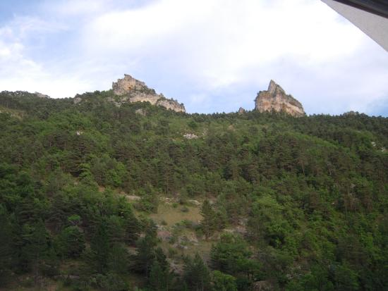 Peyreleau, Fransa: De la Muse : vue de la chambre