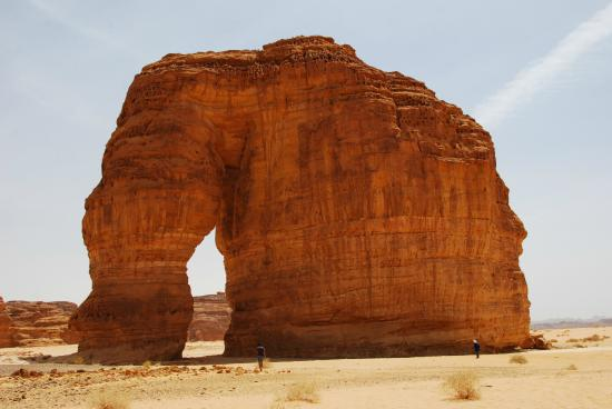 Al Ula, ซาอุดีอาระเบีย: Elephant Rock
