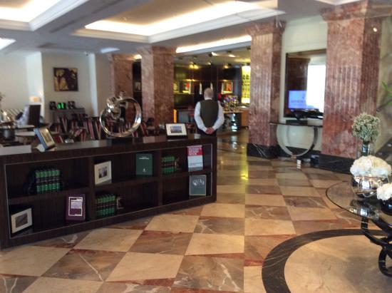 InterContinental Moscow Tverskaya Hotel: Холл