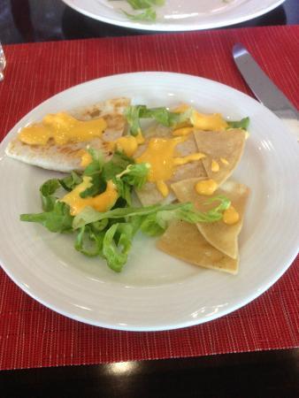 Riviera Cancun Golf Resort: Food after (starters)