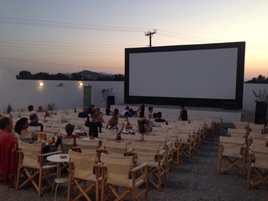 Ciudad de Naxos, Grecia: Cine Naxos