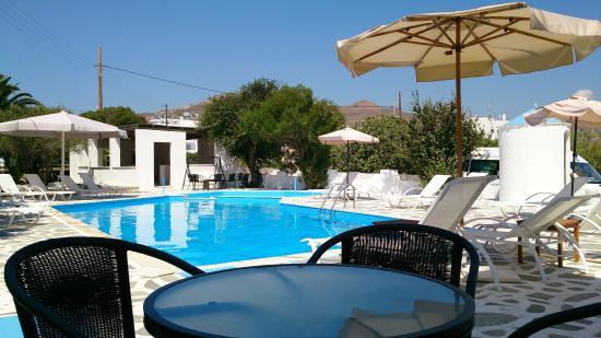 Naxos Sun Studios Pool Area 1