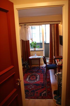 Hotel Orgryte: Hotellrom entrè