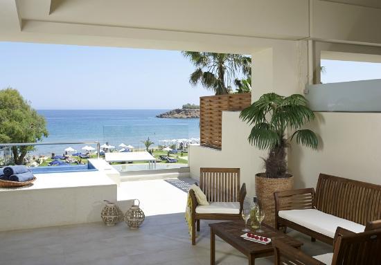 TUI SENSIMAR KALLISTON Resort & Spa by ATLANTICA : Double Room Sea View Jacuzzi