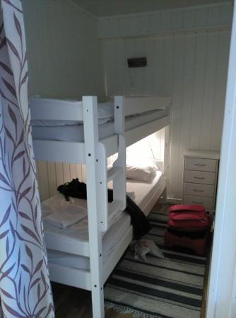 Lofoten Rorbuer: Alcove with bunks