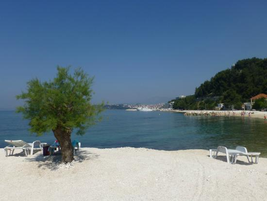 Villa Hotel BB (Apartments Bozikovic): The beach in front of the hotel