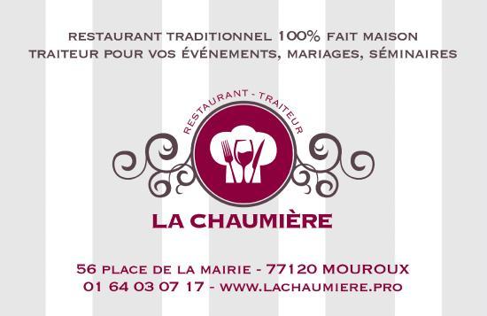 La Chaumiere Mouroux