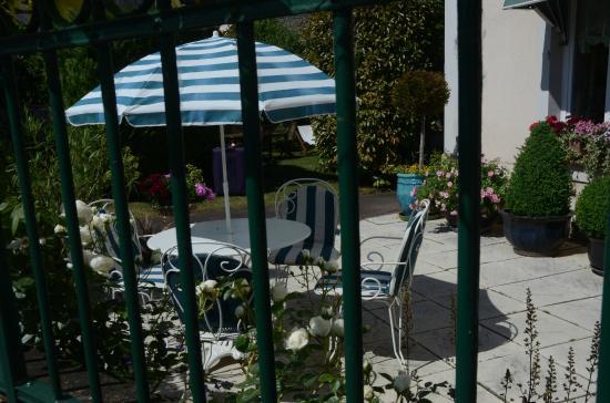 Villa Fleurie : Outdoor seating area