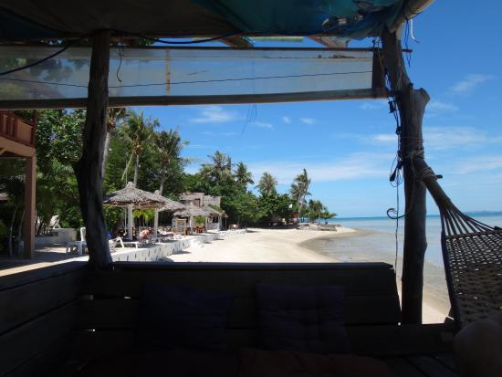 Baan Tai Backpackers: beach bar