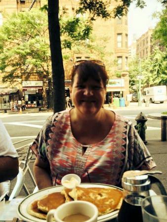 Jackson Hole--Columbus Avenue: Breakfast at Jackson hole on Columbus. Very good.
