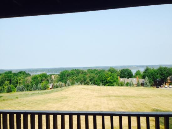 Bellaire, MI: Condo view is refreshing