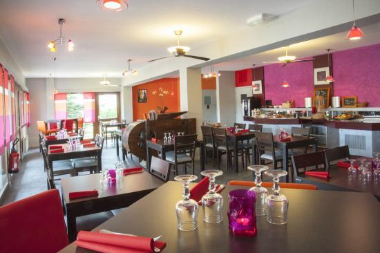 Macon Sud Hotel: Restaurant