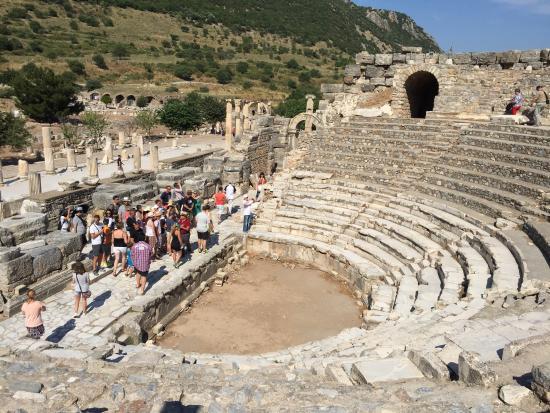 Hello Ephesus: Ephesus amphitheater