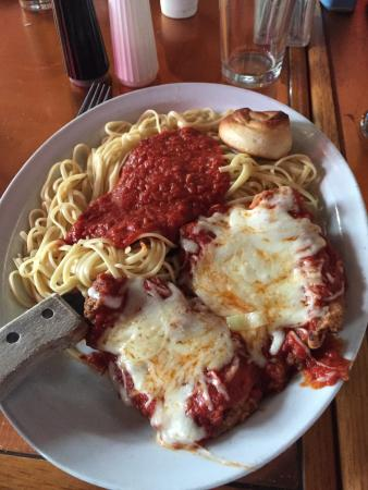Tavern in the Forest: Chicken Parmesan