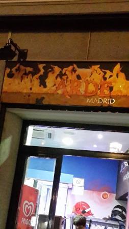 Arde Madrid Montera