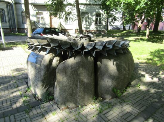 ‪Cornflower Monument to the Victims of Stalinism‬