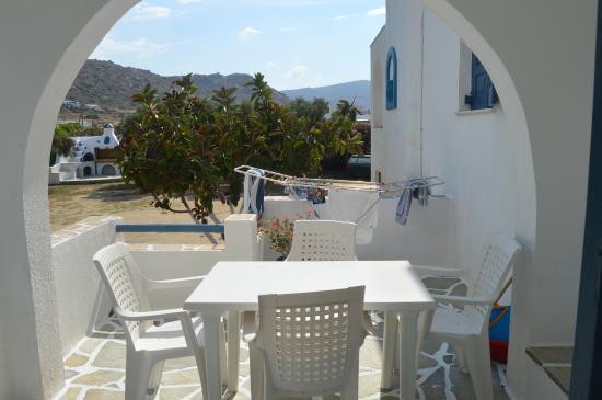 Coralli Beach Apartments: Room balcony