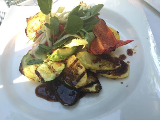 Vintage Restaurant: Vegetarian plate