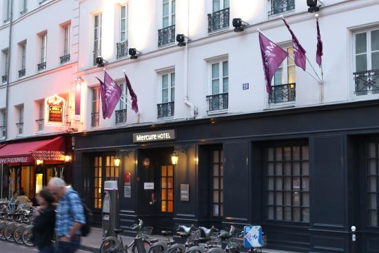 Fachada picture of mercure paris notre dame saint for Hotel notre dame paris