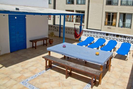 Sol Y Mar : roof terrace