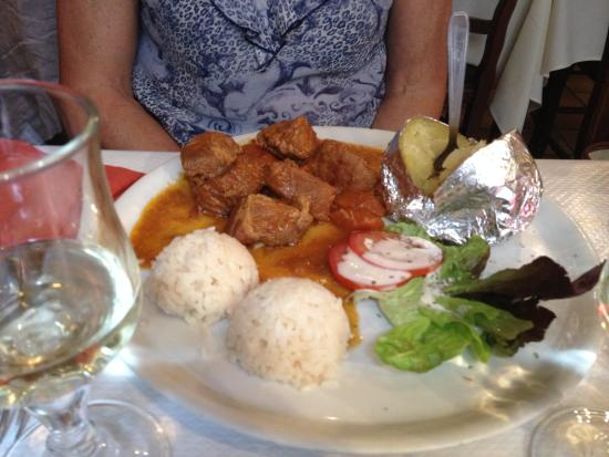 Plat grec base de porc photo de la crete paris tripadvisor - Restaurant la table du grec ...