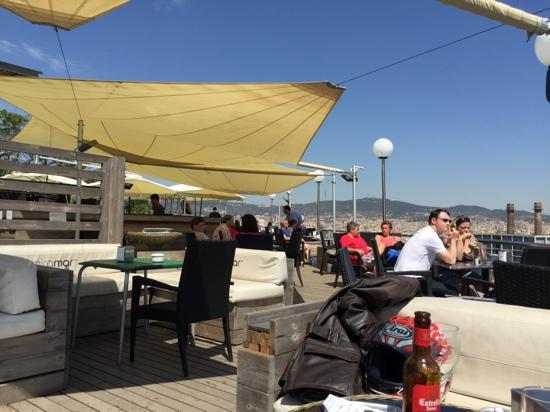 Terraza Picture Of Hotel Miramar Barcelona Tripadvisor