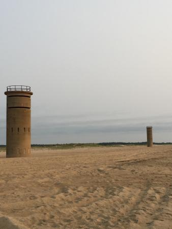 Gordons Pond : WWII submarine watch towers (fire towers.)