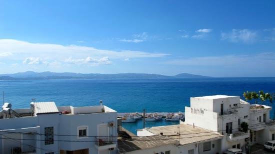 Hotel Idi : View from top floor balcony room