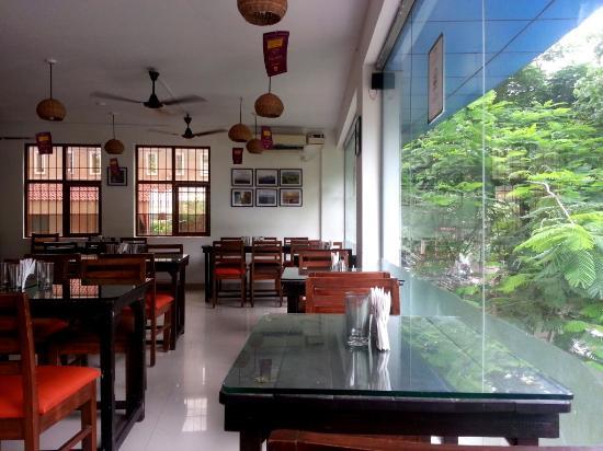 Bhojohori Manna : Sitting Area on 1st floor