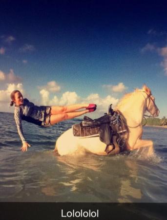 Equus Rides: Perfect timing!