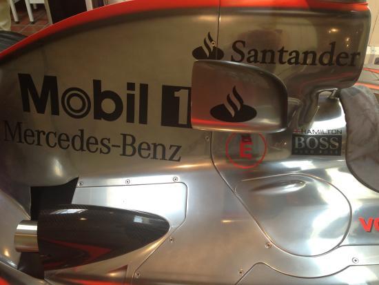 Mclaren F1 replica car which you can drive in the simulator round