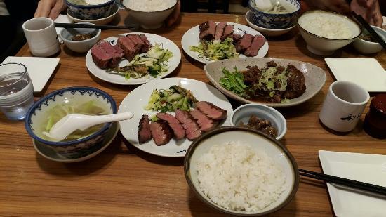 Gyutan Sumiyaki Rikyu Izumi Chuo