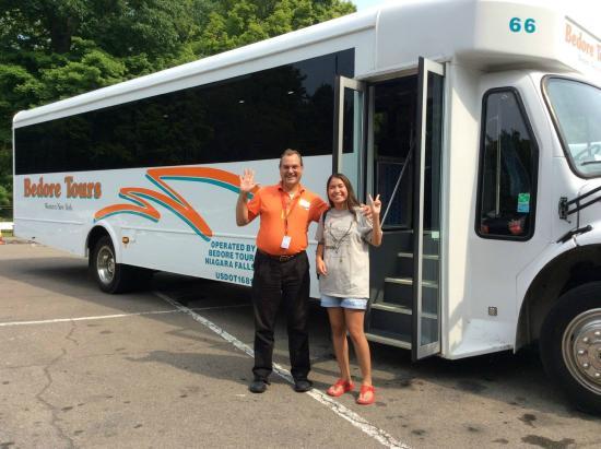 Bedore Tours guide - Brian Ceroky