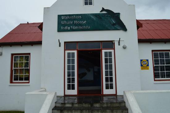 Entrance to the Whale House Museum