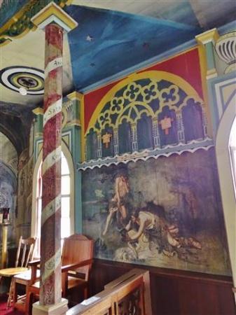Honaunau, HI: painted church