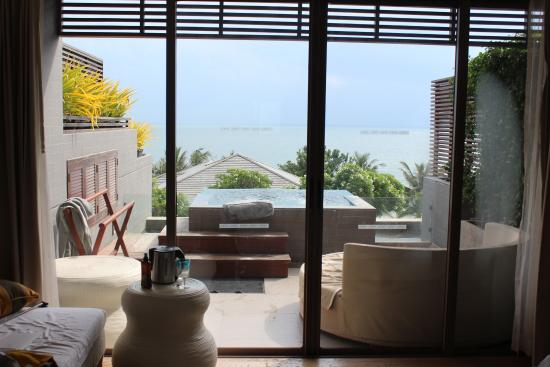 Rest Detail Hotel Hua Hin: The view from my 2nd room