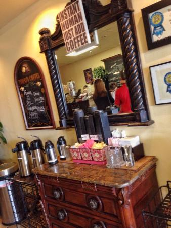 Higher Grounds Coffee Shoppe: Higher grounds coffee. A great place to visit.