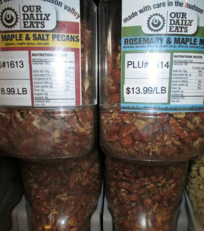 Williamstown, MA: Large bulk selection of nuts, nut & trail mixes, granolas, other snacks