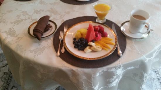 Villa Lucera : Fruit Platter