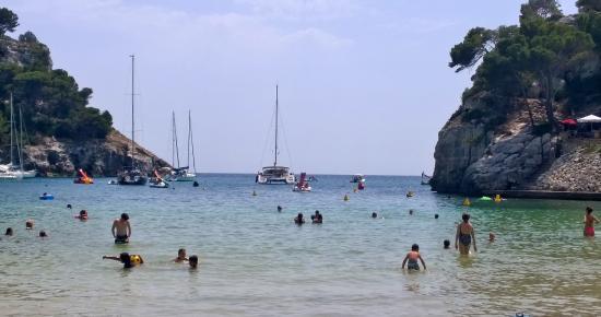 Cala Galdana Playa