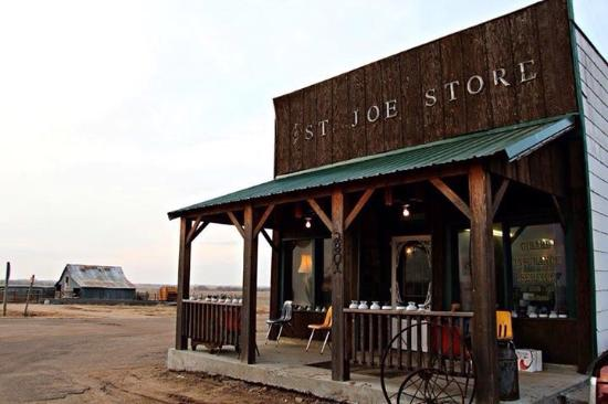 Clyde, KS: The famous St. Joe Store in Cloud County Kansas.